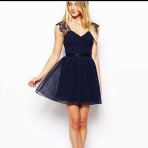 ⚡Host Pick x2⚡ASOS fit and flare lace petite dress